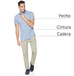 Guía de tallas hombre