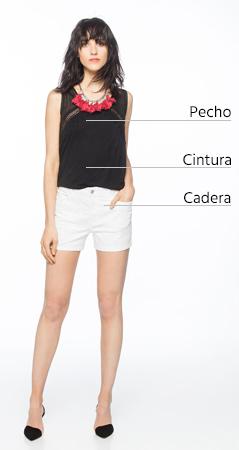 Guía de tallas mujer